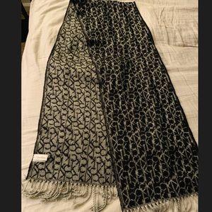 Calvin Klein CK reversible scarf